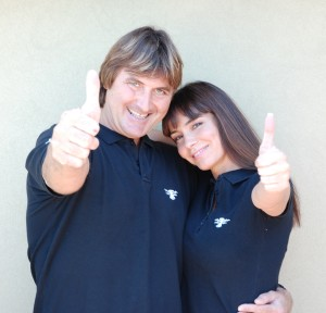 Fabrizio Zarotti e Susanna Huckstep